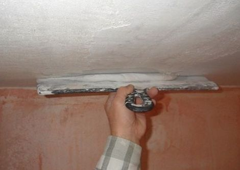 Как зашпаклевать потолок своими руками из гипсокартона